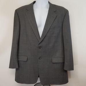 Burberry London Blazer Jacket 100% Wool 44R